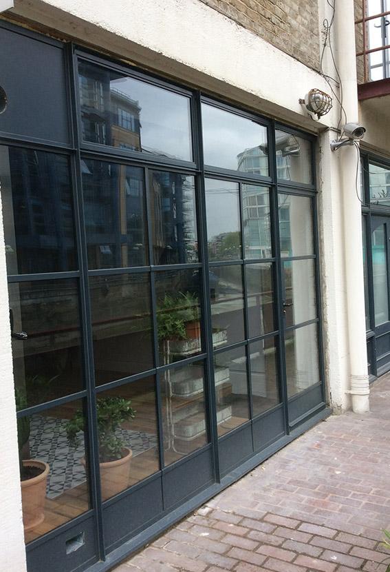 Crittall Door Installation