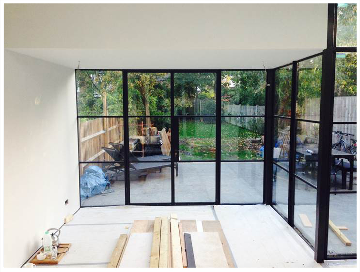 Aluminium conservatories devon for Metal windows