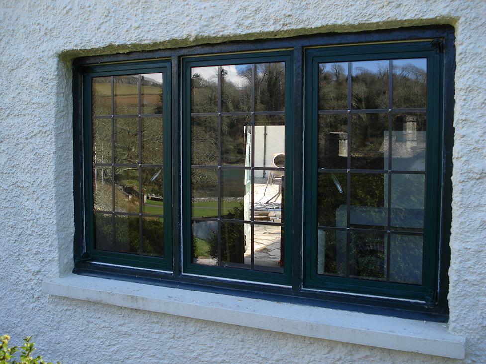 Crittall window installation for Aluminium window installation