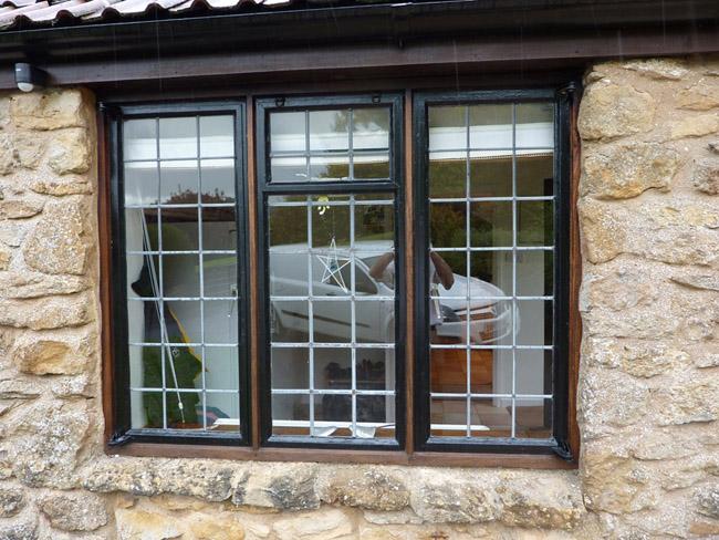 Sherborne replica aluminium windows for Double glazed window designs