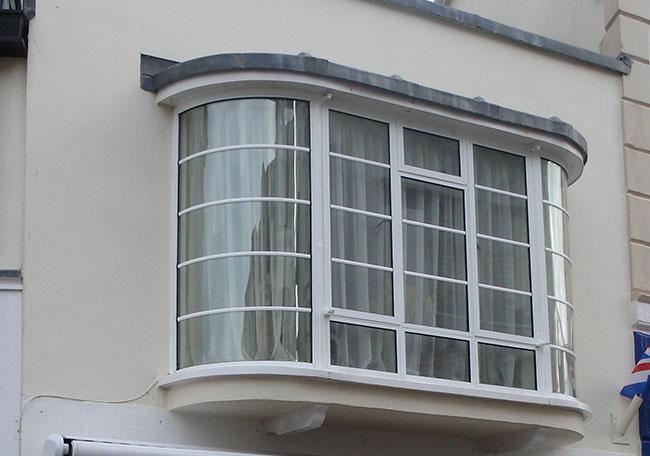 Crittall steel bay windows for Window design steel